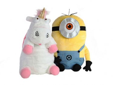 minion fluffy plush pillow despicable me