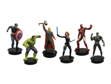 Avengers: Age of Ultron Figure Toppers Velociraptor Keychain