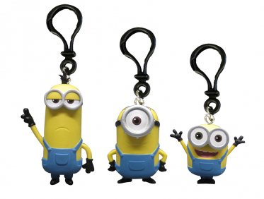 Minions Movie Heroes Clip-Ons – Le Buddies Velociraptor Keychain